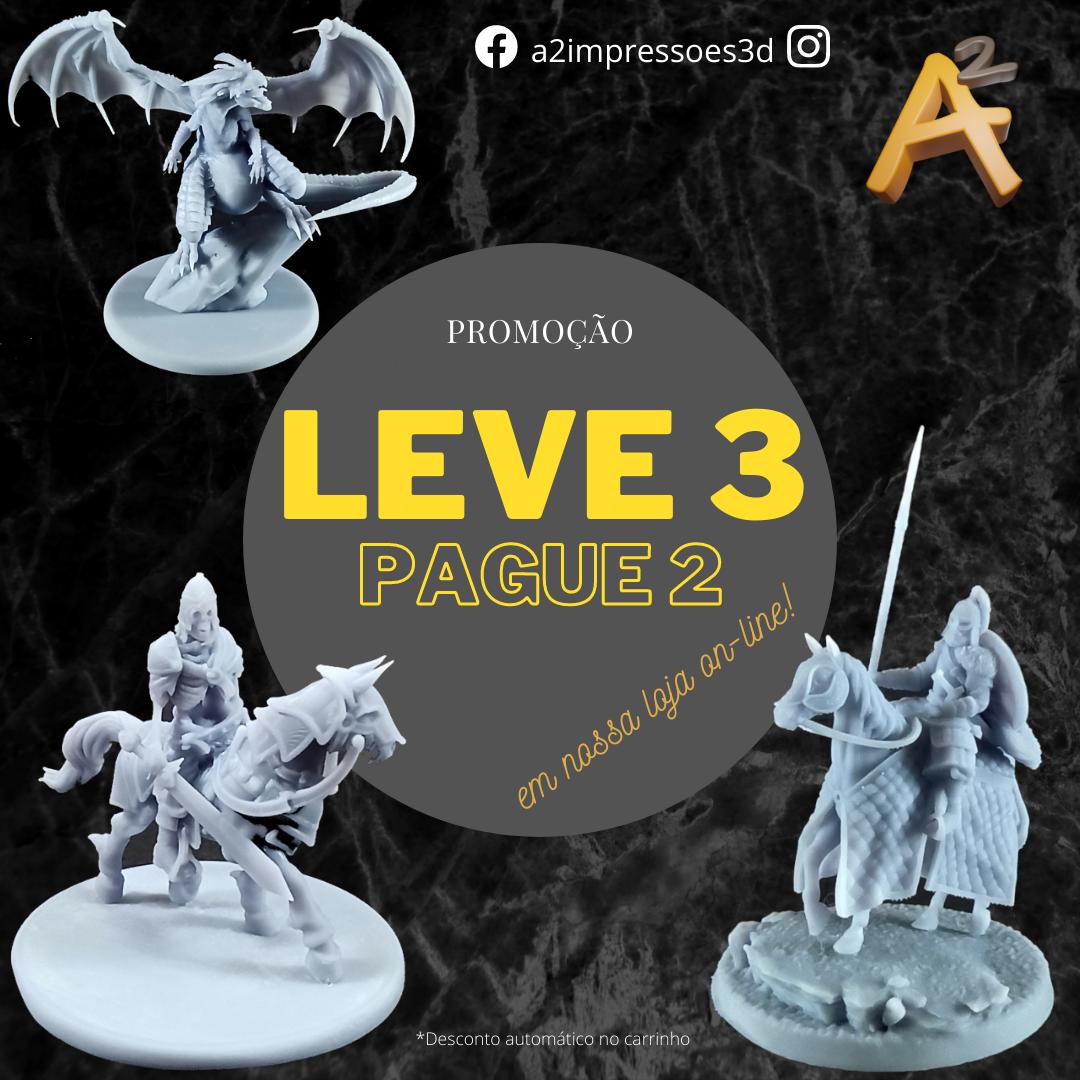 You are currently viewing Promoção Leve 3 e Pague 2